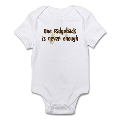 Never enough: Ridgeback Infant Bodysuit