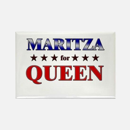 MARITZA for queen Rectangle Magnet