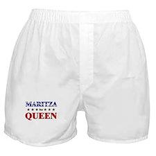 MARITZA for queen Boxer Shorts
