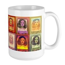 """Daphne Pop Art"" Mug~ Warm Series"