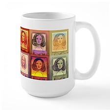 """Daphne Pop Art"" Coffee Mug~ Warm Series"