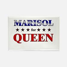 MARISOL for queen Rectangle Magnet