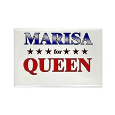 MARISA for queen Rectangle Magnet