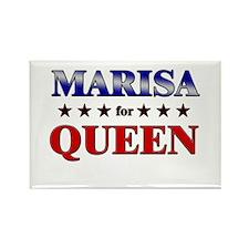 MARISA for queen Rectangle Magnet