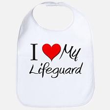 I Heart My Lifeguard Bib