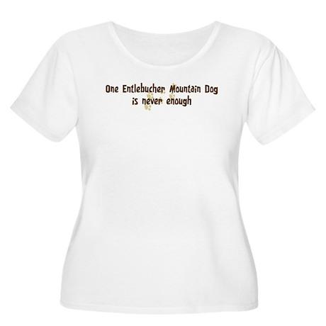 Never enough: Entlebucher Mou Women's Plus Size Sc