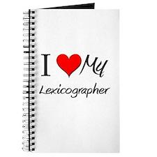 I Heart My Lexicographer Journal