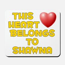 This Heart: Shawna (D) Mousepad