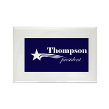 Fred Thompson president Rectangle Magnet