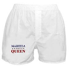 MARIELA for queen Boxer Shorts