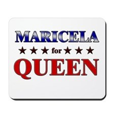 MARICELA for queen Mousepad