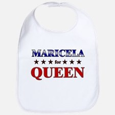MARICELA for queen Bib