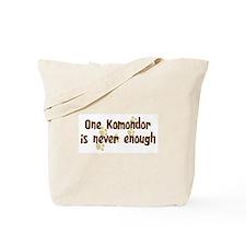 Never enough: Komondor Tote Bag