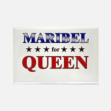 MARIBEL for queen Rectangle Magnet