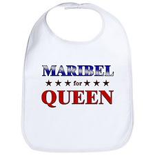 MARIBEL for queen Bib