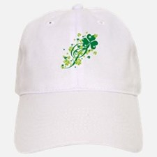 Shamrocks and Swirls Baseball Baseball Cap