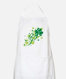 Shamrocks and Swirls BBQ Apron
