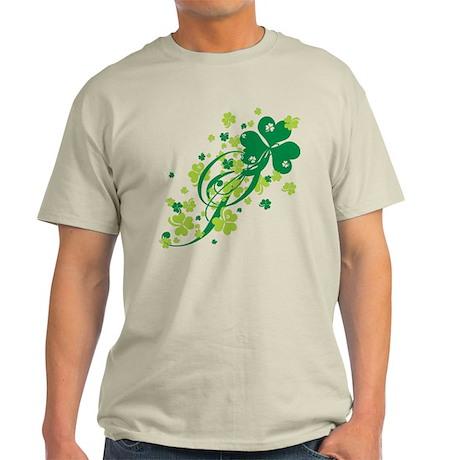 Shamrocks and Swirls Light T-Shirt