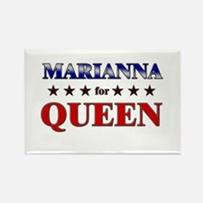 MARIANNA for queen Rectangle Magnet