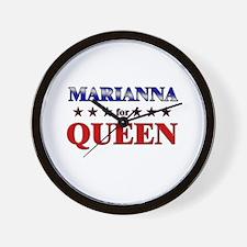 MARIANNA for queen Wall Clock