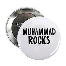 "Muhammad Rocks 2.25"" Button"
