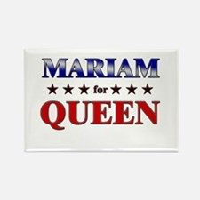MARIAM for queen Rectangle Magnet