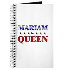 MARIAM for queen Journal