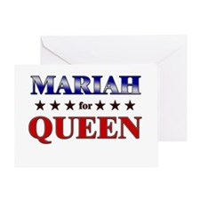 MARIAH for queen Greeting Card