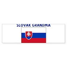 SLOVAK GRANDMA Bumper Bumper Sticker
