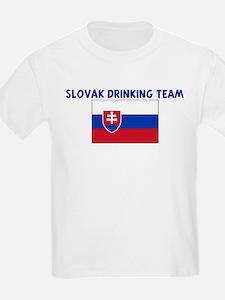 SLOVAK DRINKING TEAM T-Shirt