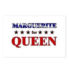 MARGUERITE for queen Postcards (Package of 8)