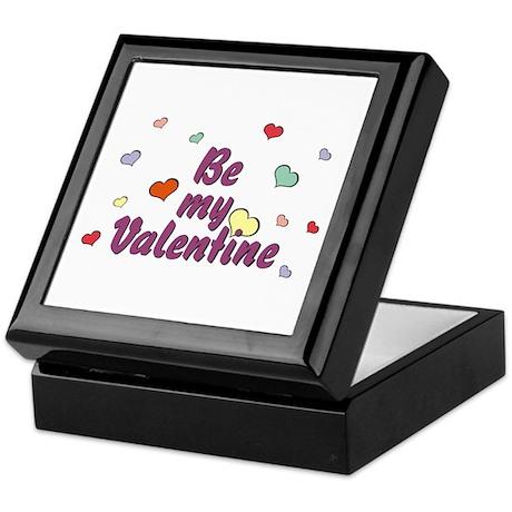 Be My Valentine Keepsake Box