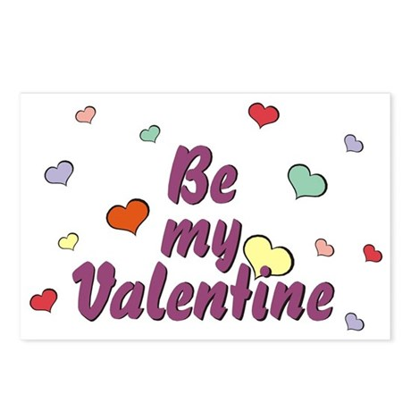 Be My Valentine Postcards (Package of 8)
