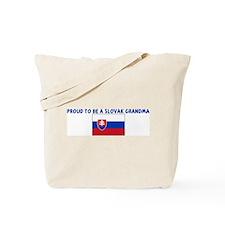 PROUD TO BE A SLOVAK GRANDMA Tote Bag