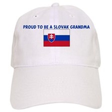 PROUD TO BE A SLOVAK GRANDMA Baseball Cap