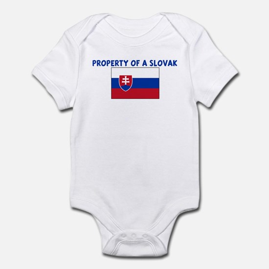 PROPERTY OF A SLOVAK Infant Bodysuit
