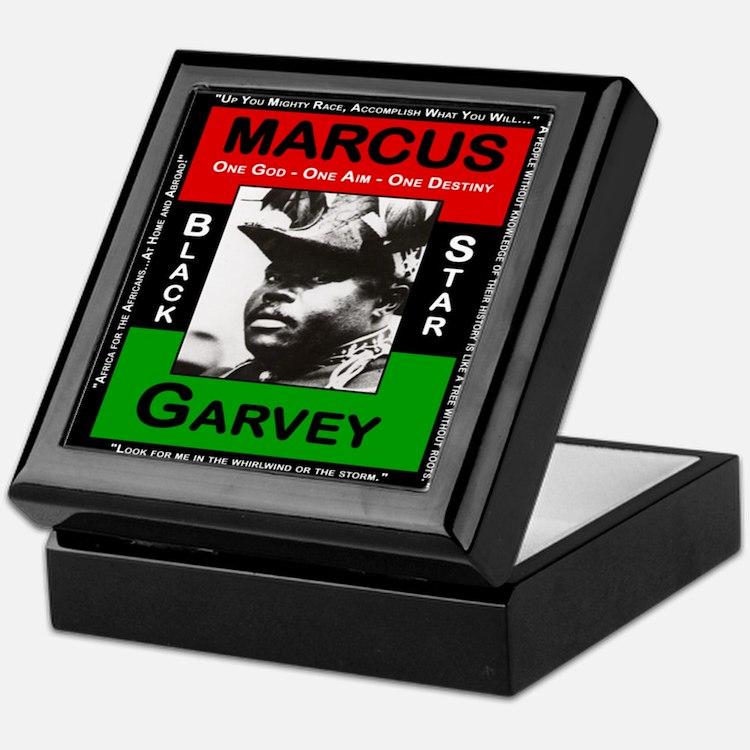 Marcus Garvey Keepsake Box