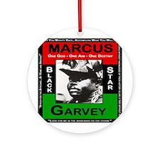 Marcus Garvey Ornament (Round)