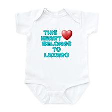 This Heart: Lazaro (E) Infant Bodysuit