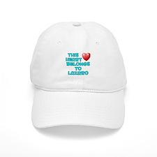 This Heart: Lazaro (E) Baseball Cap