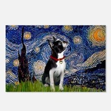 Starry Night & Boston Postcards (Package of 8)