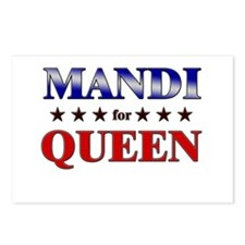 MANDI for queen Postcards (Package of 8)