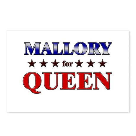 MALLORY for queen Postcards (Package of 8)