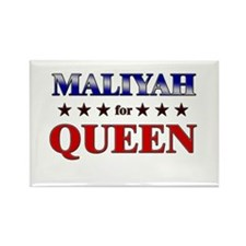 MALIYAH for queen Rectangle Magnet