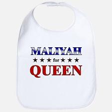 MALIYAH for queen Bib