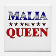 MALIA for queen Tile Coaster