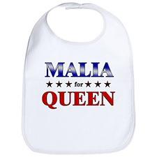 MALIA for queen Bib