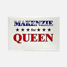 MAKENZIE for queen Rectangle Magnet