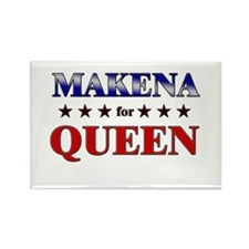 MAKENA for queen Rectangle Magnet