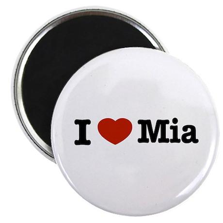 "I love Mia 2.25"" Magnet (10 pack)"